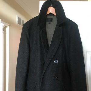 J. Crew wool pea coat with Thinsulate